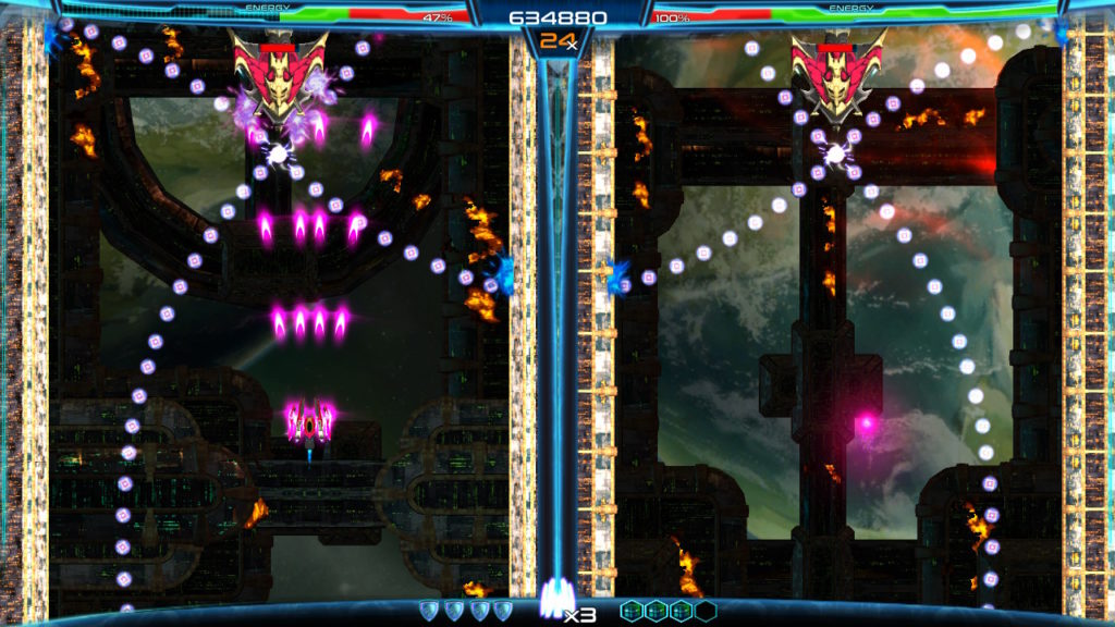 Dimension Drive - niveau boss