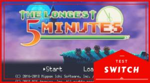 Bannière test The Longest Five Minutes Switch 810