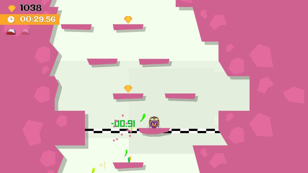 Jumping Joe and Friends Switch - mode race checkpoint