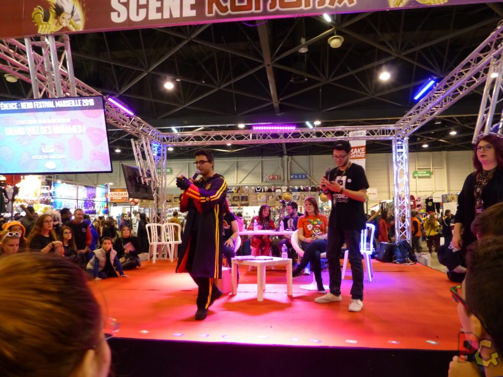 Hero Festival Saison 5 - conférence des No Names