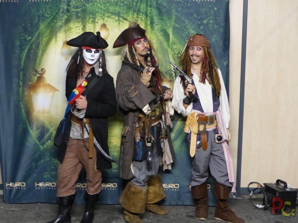 Hero Festival Saison 5 - cosplay pirates des caraibes