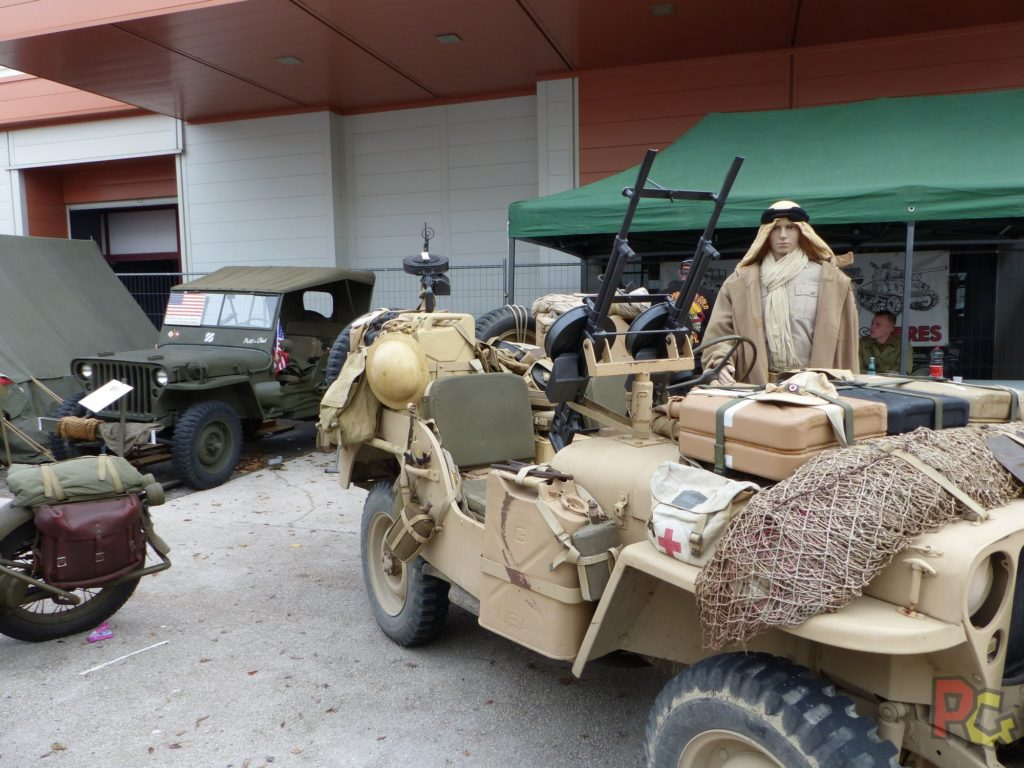 ero Festival Saison 5 - exposition véhicules armée américaine