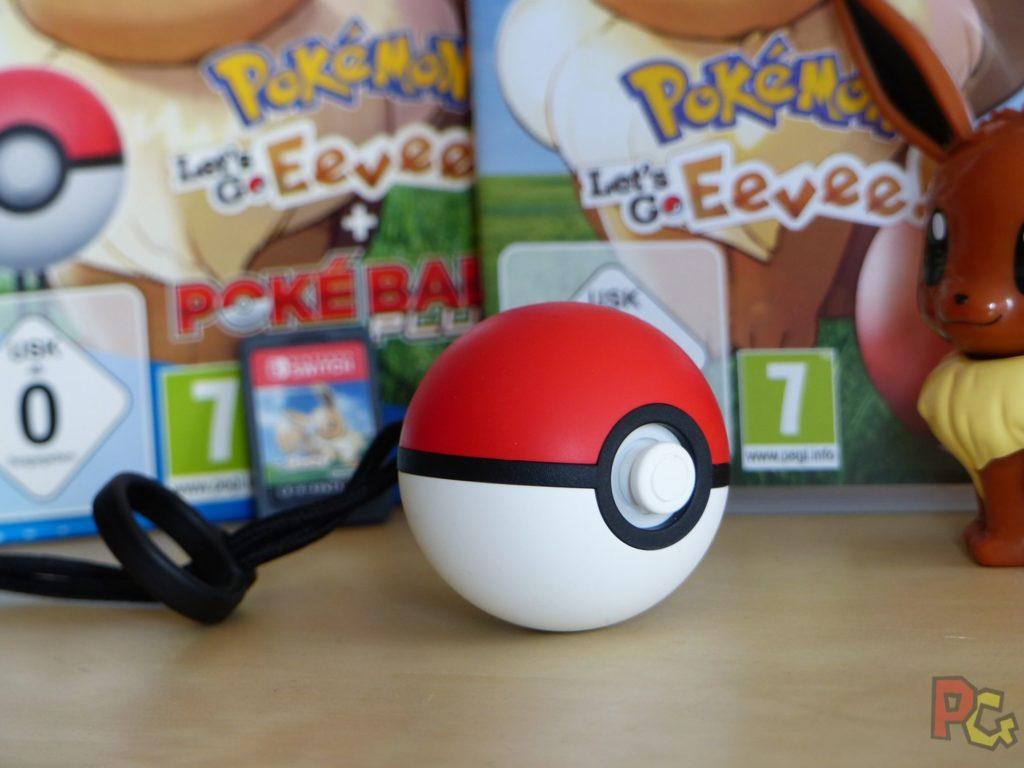 Pokemon Lets Go Evoli - pokeball plus