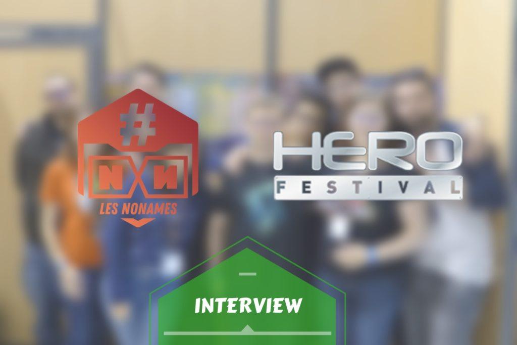 Bannière interview No Names Hero festival
