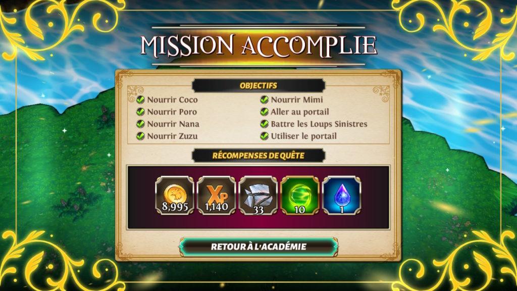 Valthirian Arc Hero School Story Switch - rapport de mission
