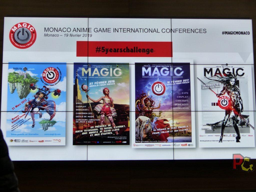Conférence de presse 5ème MAGIC - affiches MAGIC