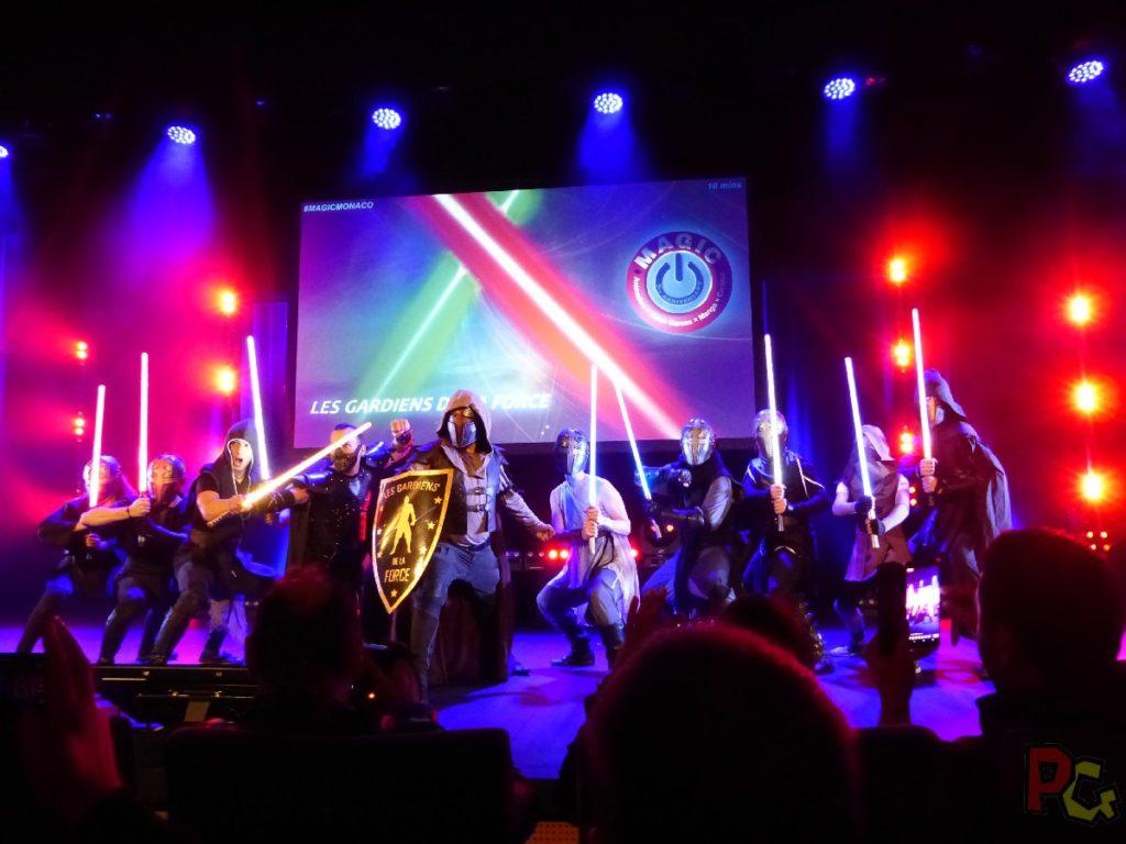 MAGIC2019 5ème anniversaire - sabre laser Les Gardiens de la Force