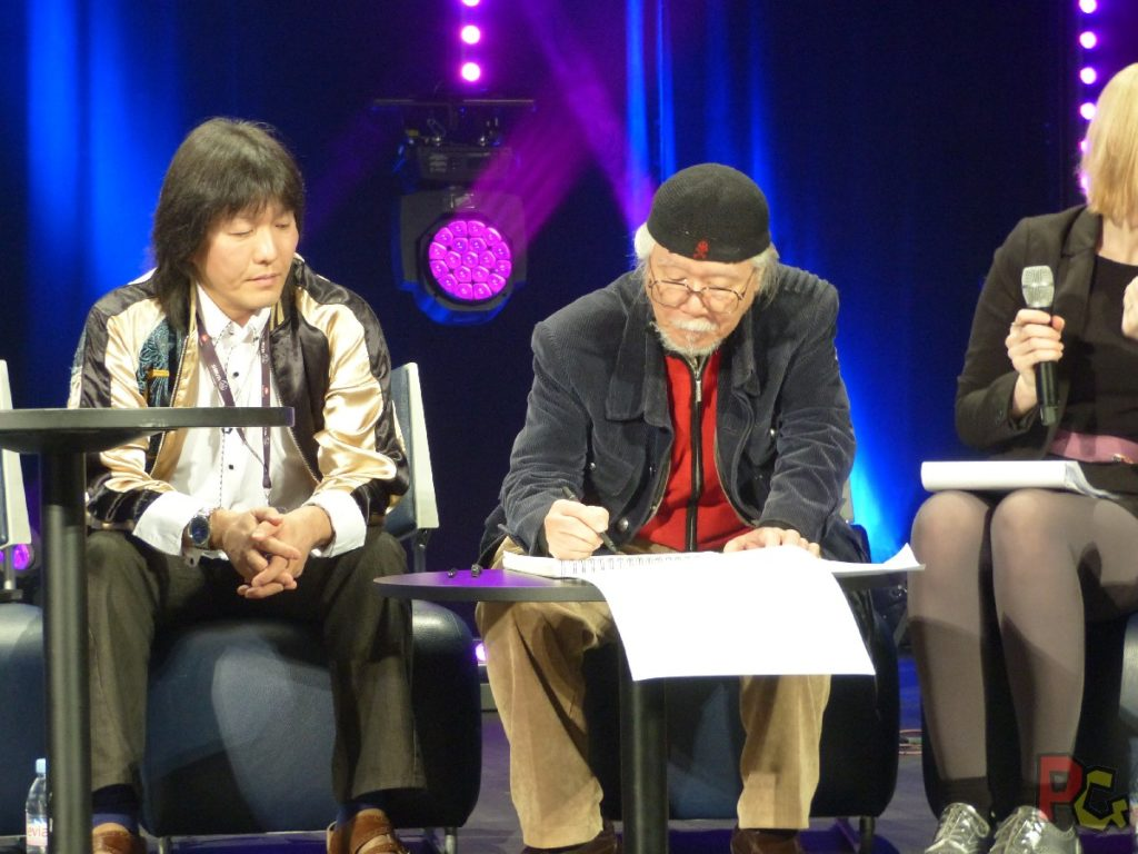 MAGIC2019 5ème anniversaire - live drawing Leiji Matsumoto