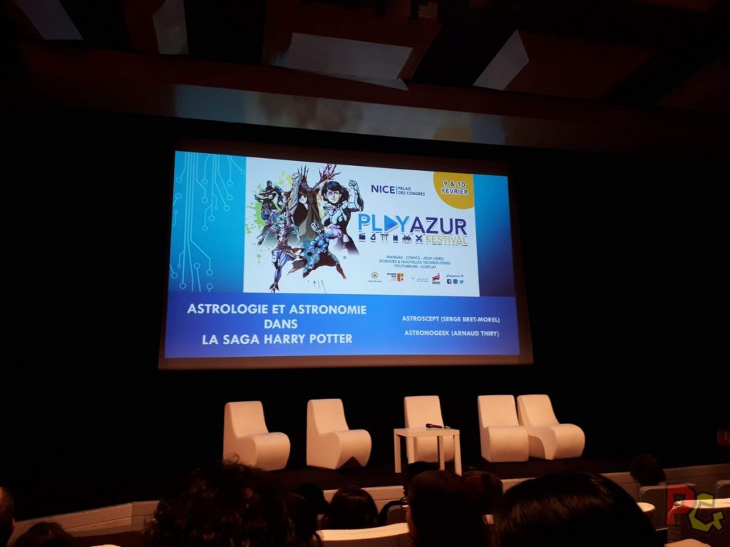 Play Azur Festival 2019 - conference Harry Potter