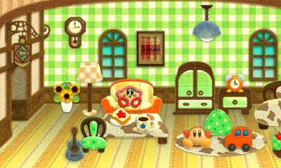 Kirby au fil de la Grande Aventure 3DS - appartement Kirby