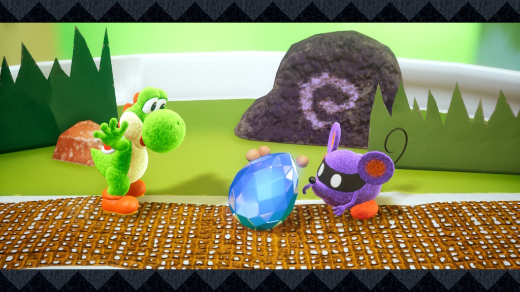 Yoshi Crafted World Switch - gemme
