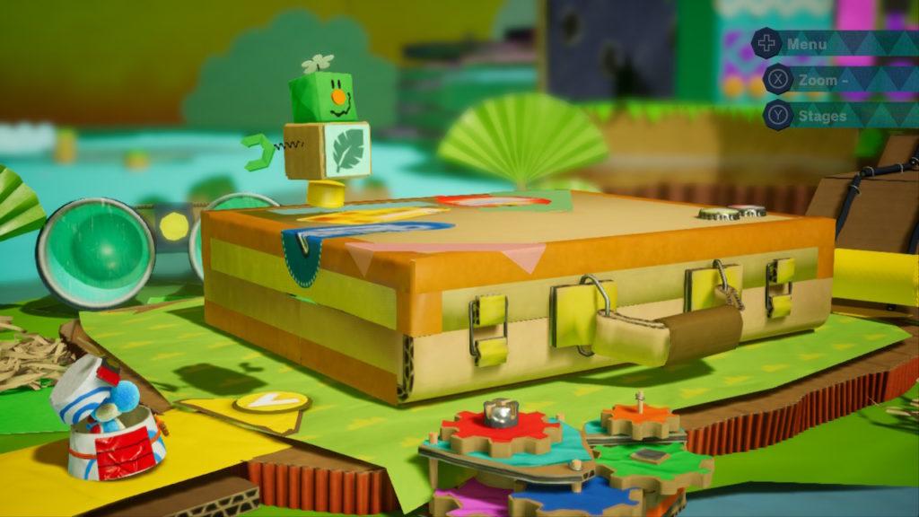 Yoshi Crafted World Switch - niveau malette