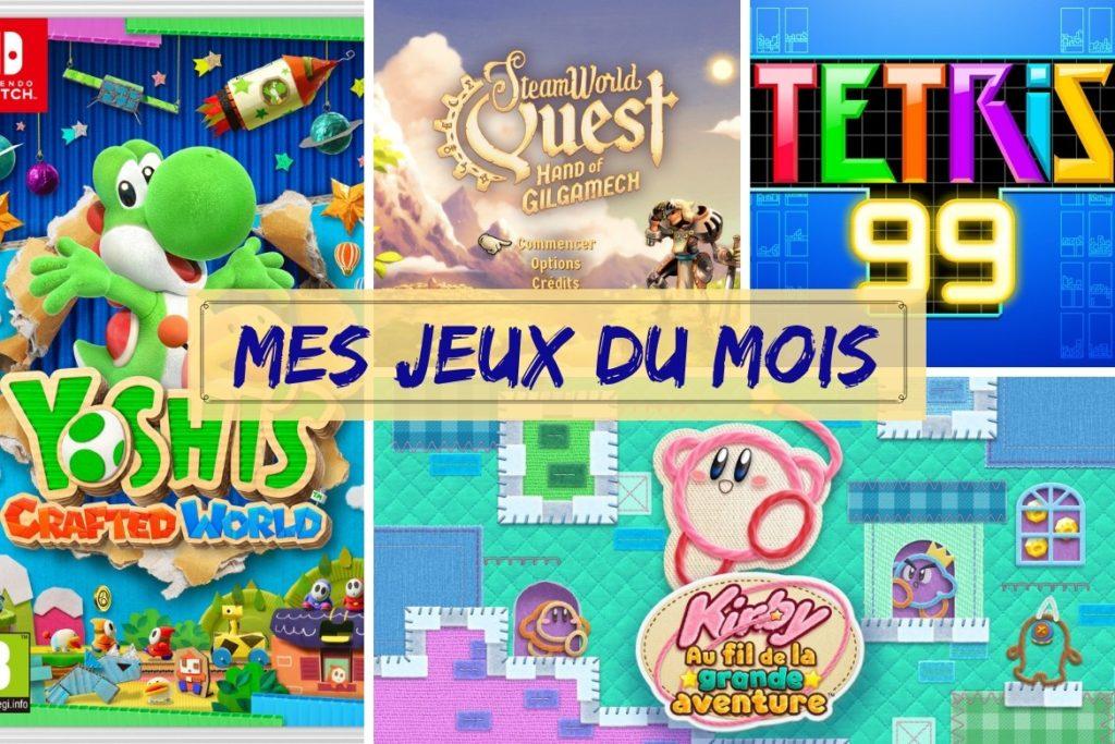 Bilan jeux avril 2019