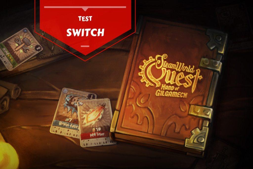 Bannière test SteamWorld Quest Switch