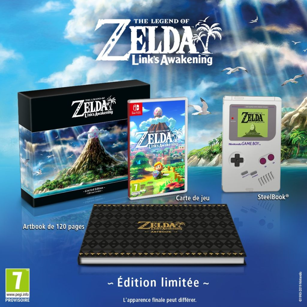 Nintendo E3 2019 - Collector Zelda Links Awakening