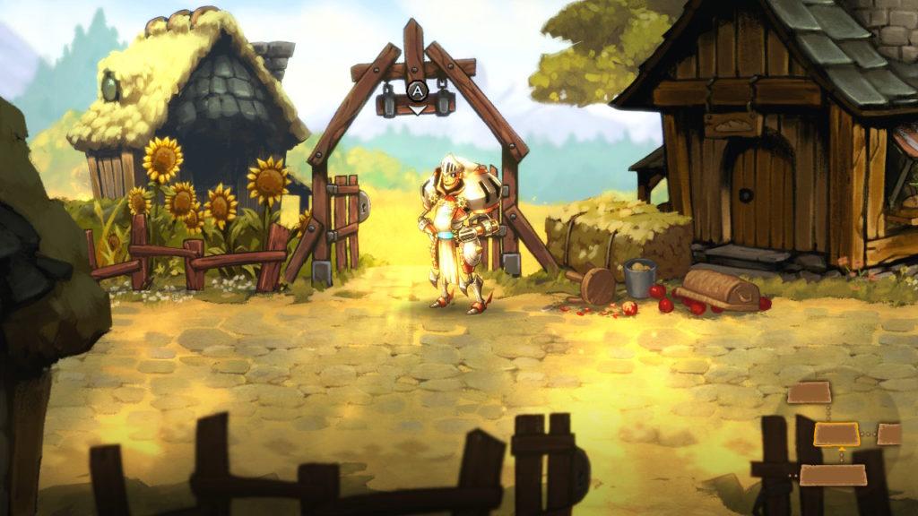 SteamWorld Quest - carte du monde