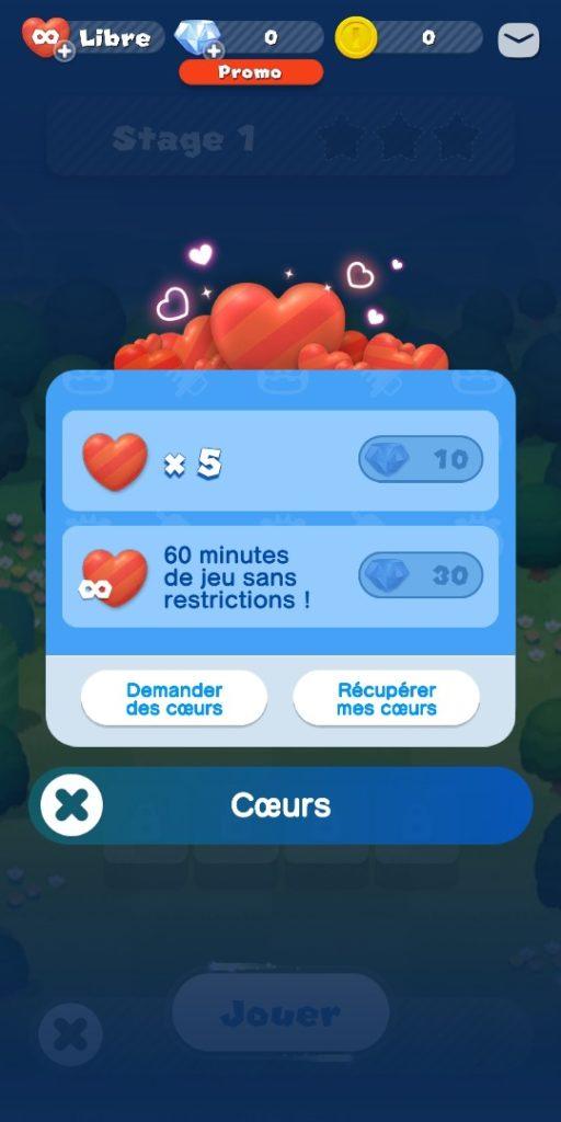 Dr Mario World - coeurs