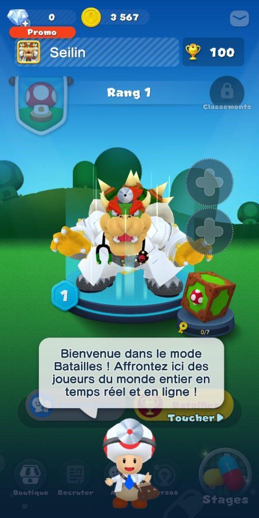 Dr Mario World - mode bataille
