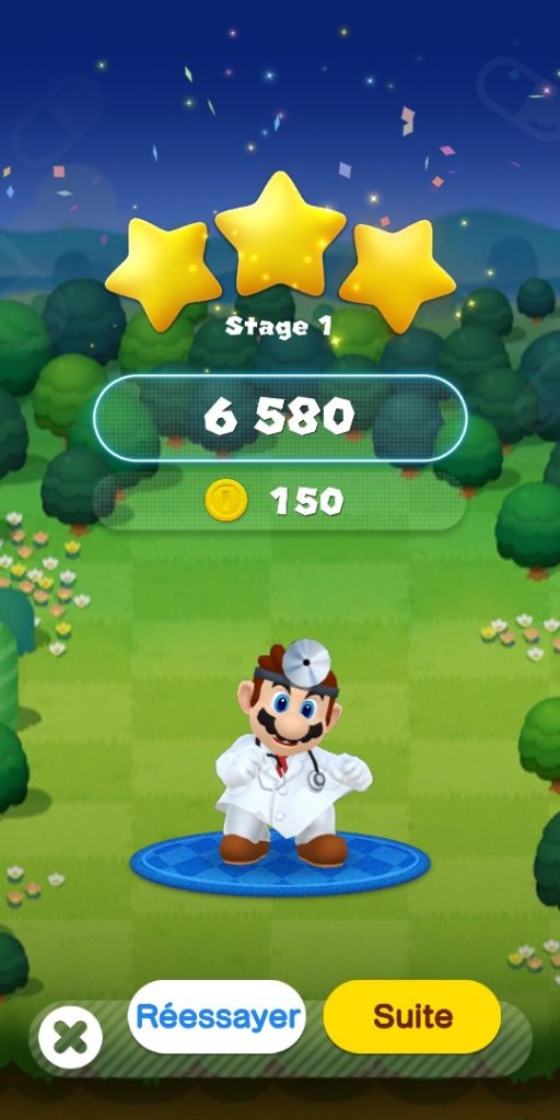 Dr Mario World - victoire