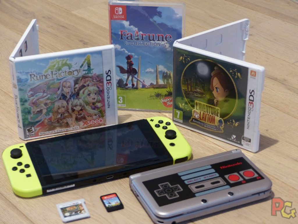 OEP Portages Switch - Switch et 3DS et jeux portés