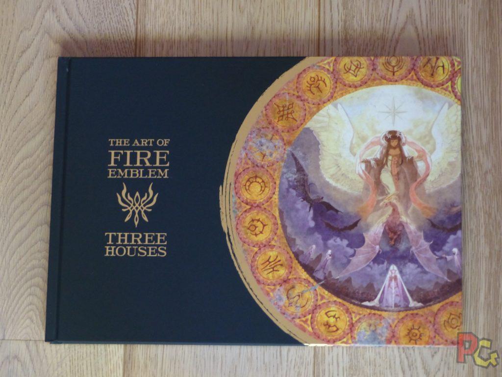 Unboxing Fire Emblem Three Houses - artbook recto