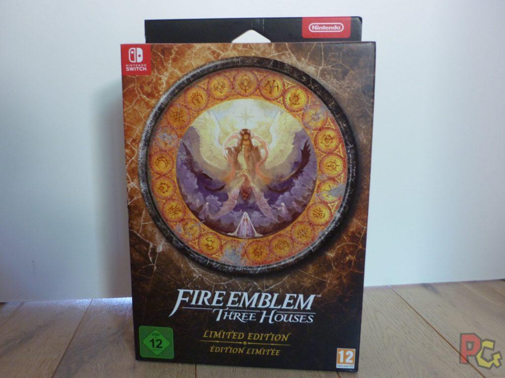 Unboxing Fire Emblem Three Houses - avant boîte
